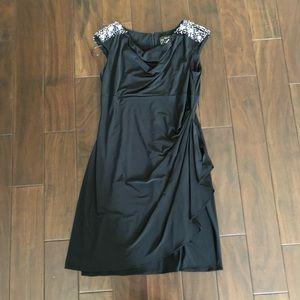 COCKTAIL DRESS -Alex Evenings - PETITE - EUC